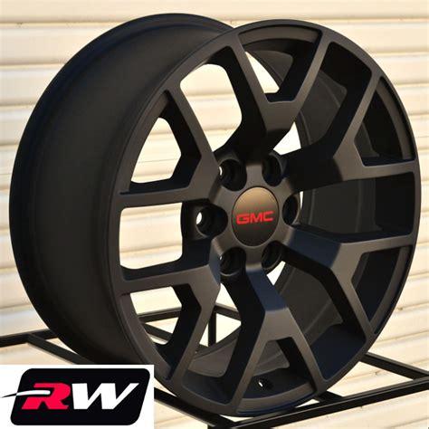 20 inch gmc factory wheels for sale 2014 2015 gmc 1500 replica wheels satin black rims