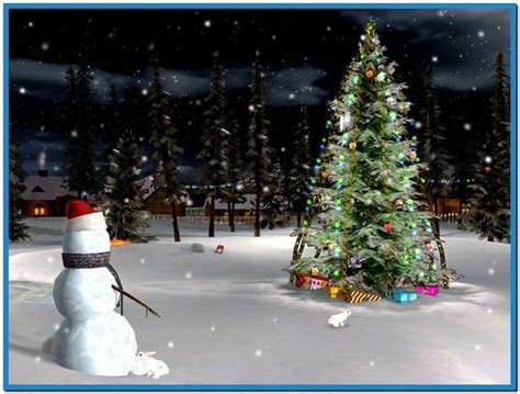 animated christmas tree screensavers download free