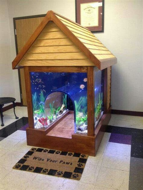 cool dog houses cool dog house aquarium jake the dog pinterest