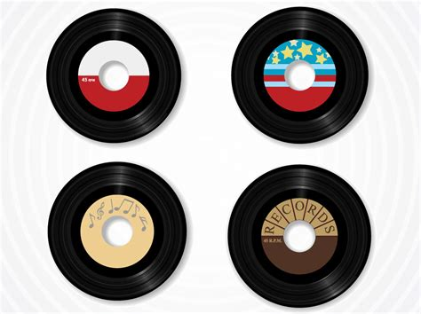 Free Records Vinyl Record Vectors Vector Graphics Freevector