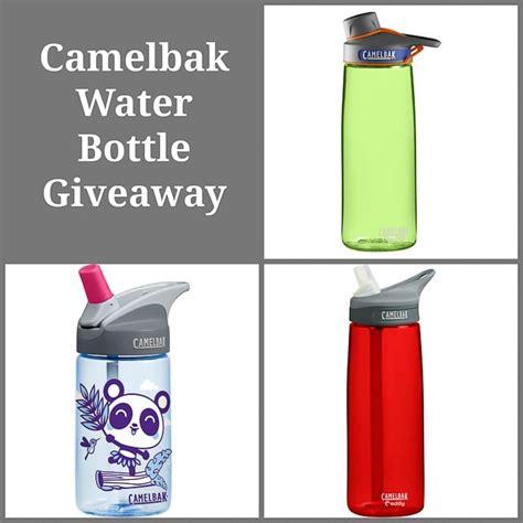Water Bottle Giveaways - giveaway camelbak water bottles vegetarian gastronomy