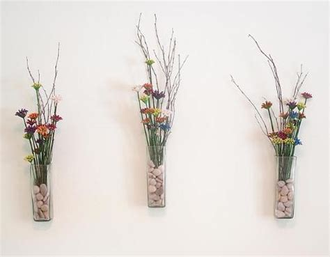Glass Wall Vases For Flowers by Glass Wall Flower Vase Vases Sale