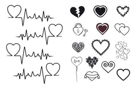 tattoos on pinterest heartbeat tattoos heartbeat and