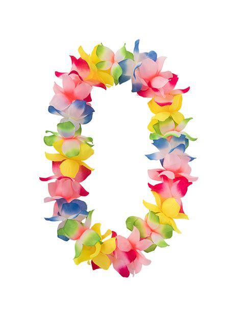 collana fiori hawaiana collana luminosa hawaiana a fiori multicolore accessori e