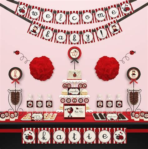 Ladybug Theme For Baby Shower by 178 Best Baby Shower Ladybug Theme Inspirations Images On