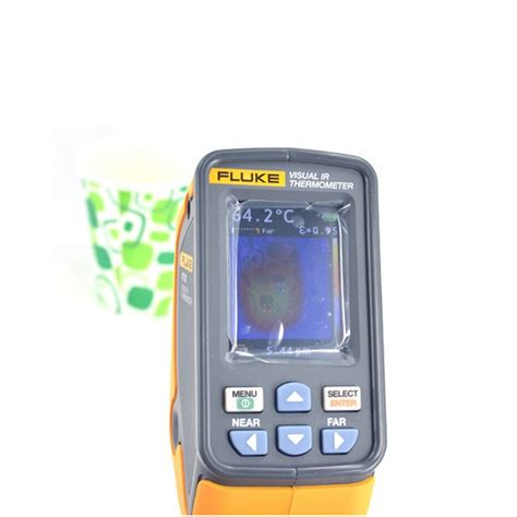 Visual Infrared Thermometer Fluke Vt 02 original fluke vt02 visual infrared thermometer ir thermal imager ebay