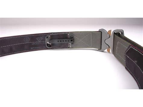 tactical belt buckles crosstac d belt ii tactical belt 1 3 4 steel buckle