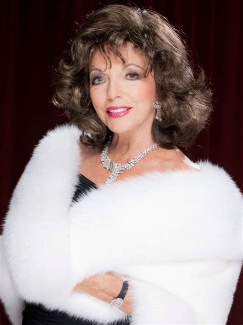 Joan Collins may be approaching her 80th birthday but she