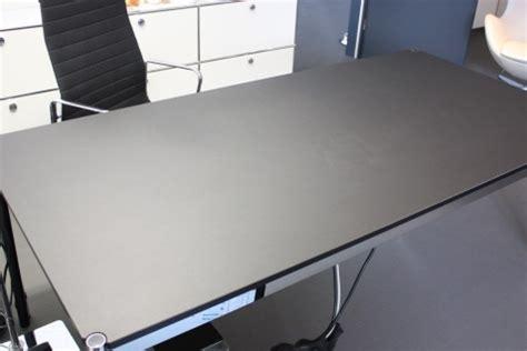 2m schreibtisch usm haller lino linoleum tisch schwarz 200x100 cm