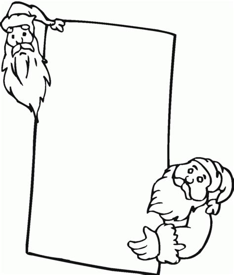 printable free pictures santa claus printables coloring home