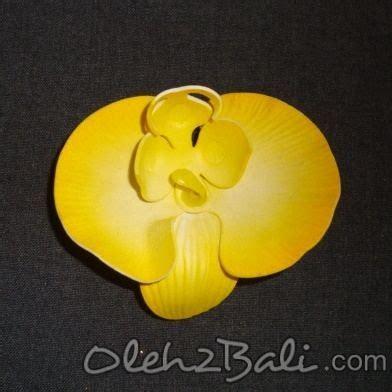 Bunga Anggrek Bulan Kuning bunga anggrek bulan kuning 7cm
