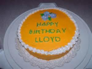 Wilson Cake Decorating Birthday Cake For Lloyd May 2013
