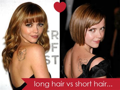 short vs long how to cut hair extensions dkw styling getting a short haircut