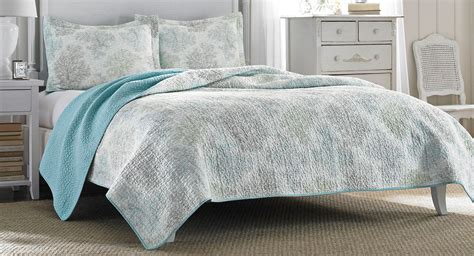 ashley bedding laura ashley saltwater blue comforter set ebay