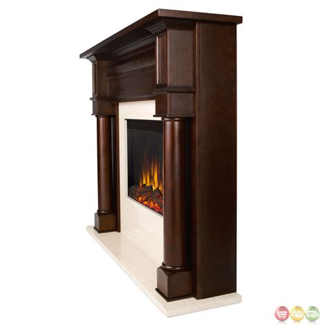 berkeley electric led heater fireplace in walnut