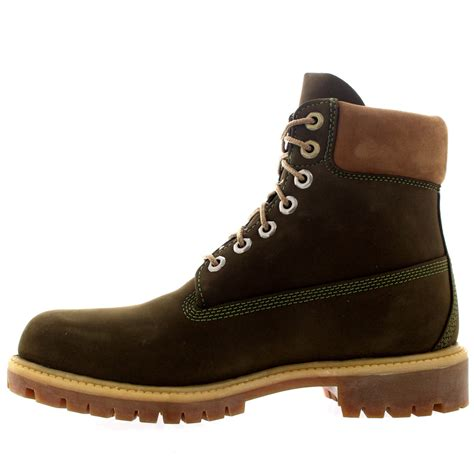 timberland olive boots mens timberland 6 inch premium waterproof leather