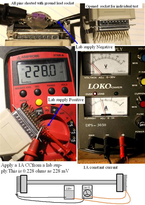 less than 1 ohm resistor measuring resistance of less than 1 ohm