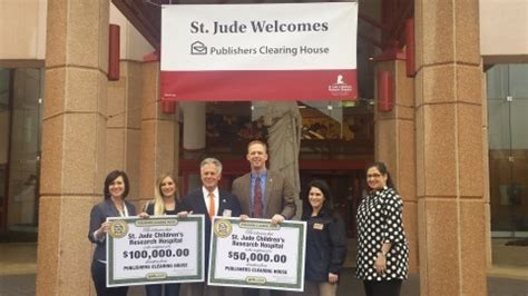 Publishers Clearing House Check Image - pch donates 150 000 to st jude children s research