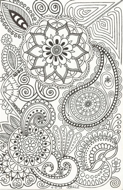 flower doodle coloring pages 17 best images about doodles ideas on