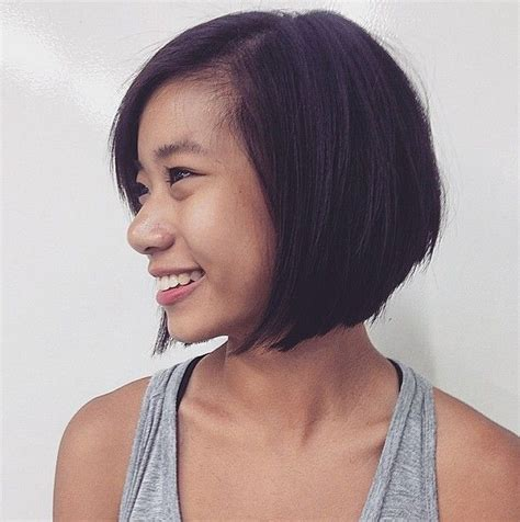 graduated bob hairstyles for round faces 104 best hair style images on pinterest