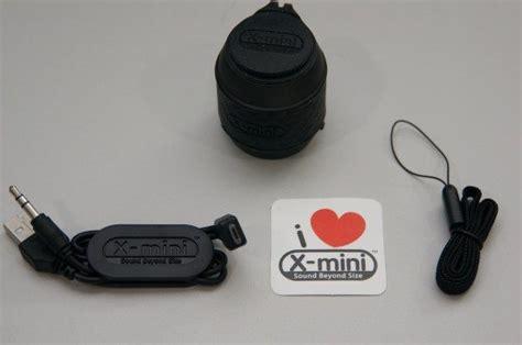 Speaker Bluetooth X Mini Xam 22 x mini we and me thumbsize speakers review the gadgeteer