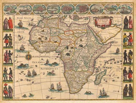 africa map vintage historical uk maps for sale