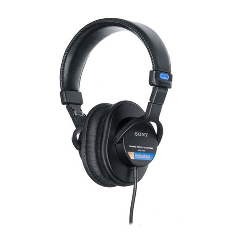 Headphone Sony Mdr 7506 sony mdr 7506 stereo headphones at gear4music