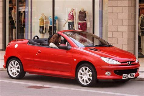 peugeot cabriolet 206 peugeot 206 coupe cabriolet 2000 2007 used car review