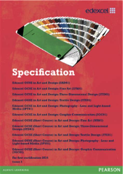 art design edexcel edexcel gcse art and design 2009 pearson qualifications