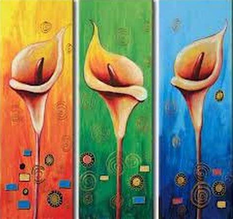 imagenes artisticas faciles cuadros modernos pinturas y dibujos flores pinturas al