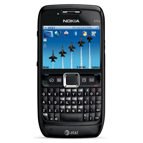 nokia qwerty phones nokia e71x at t phone w qwerty keyboard five way scroll