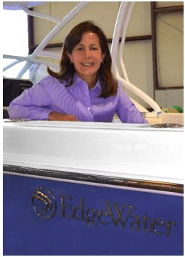 edgewater boats names new president ceo boating industry - Edgewater Boats Ceo