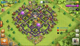 Pics photos clash of clans top 5 th7 trophy bases youtube