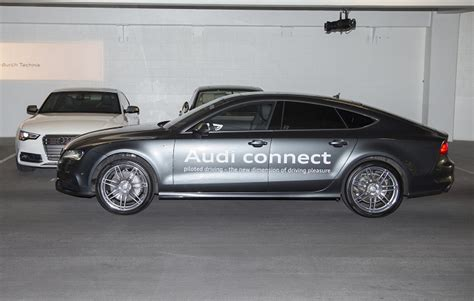 Audi Self Park by Driver Assist And Self Driving Shine At Ces Mbworld
