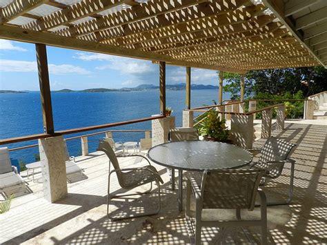 covered outdoor seating st villas vi serenity villa