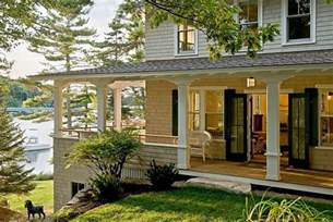 Wrap Around Porch Ideas Four Beautiful Porches Design Ideas
