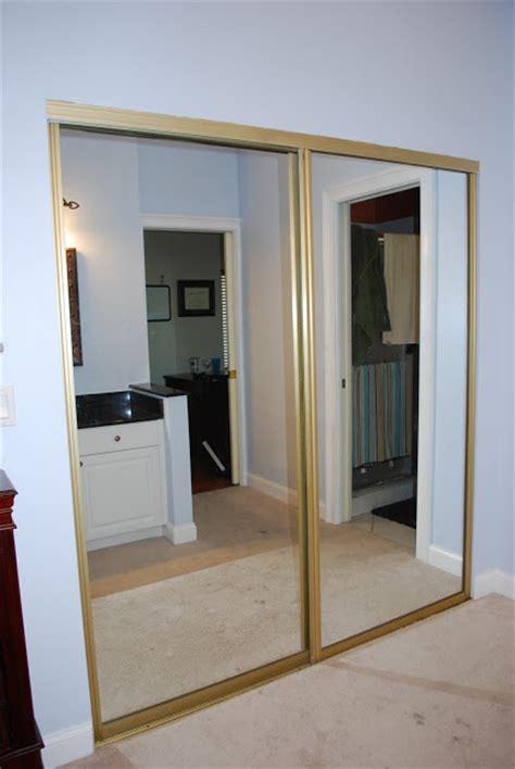 Kara S Korner Closet Part 2 Door Makeover How Much Are Mirrored Closet Doors