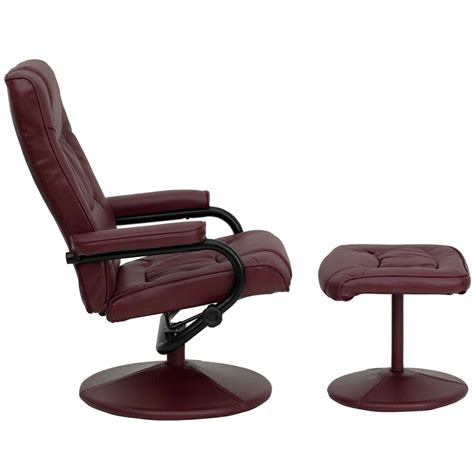 burgundy recliner chair flash furniture contemporary burgundy leather recliner
