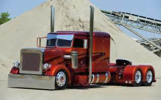 Wheels Truck Show Peterbilt Semi Trucks Vehicles Color Wheels 18
