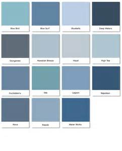 blue paint swatches colorevolution blues