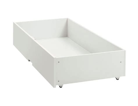 White Underbed Drawers by Bentley Designs Atlanta White Underbed Drawer By Bentley