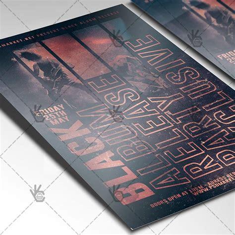Receipt Template Grunge Psd by Grunge Premium Flyer Psd Template Psdmarket