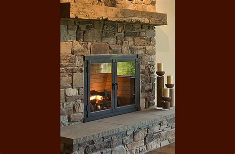 Dining Room Window Treatment Ideas by Rustic Fireplace Eclectic Family Room Seattle By