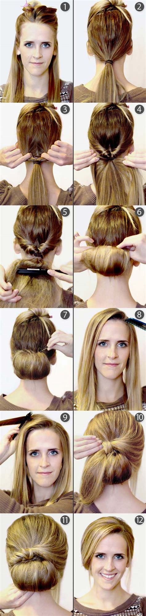 hairstyles diy 9 pretty diy hairstyles with step by step tutorials