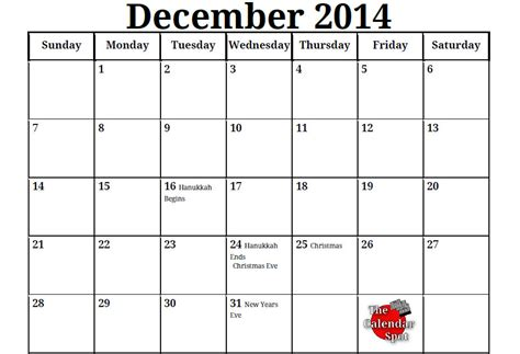 december month calendar 2013 printable image gallery 10 2014 calendar