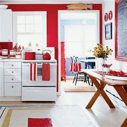 Red White Kitchen Ideas Red Kitchen Design Ideas Trend Home Design And Decor