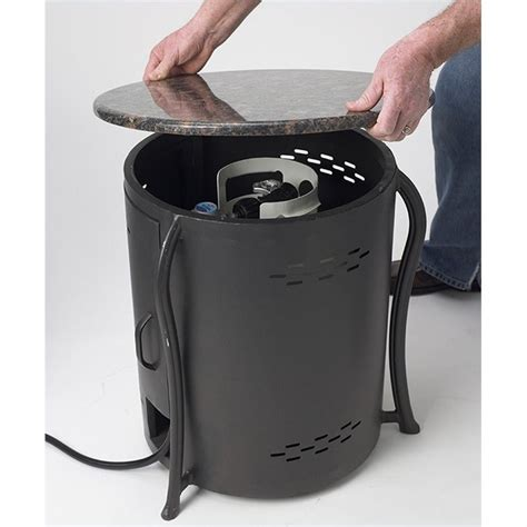 propane tank cover table outdoor greatroom company table lp tank cover with