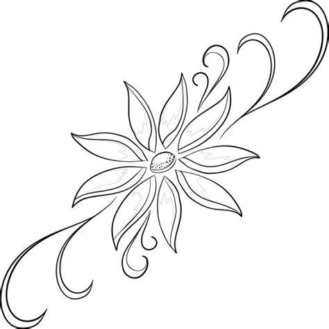 imagenes para dibujar muy buenas 60 im 225 genes de flores para colorear dibujos colorear
