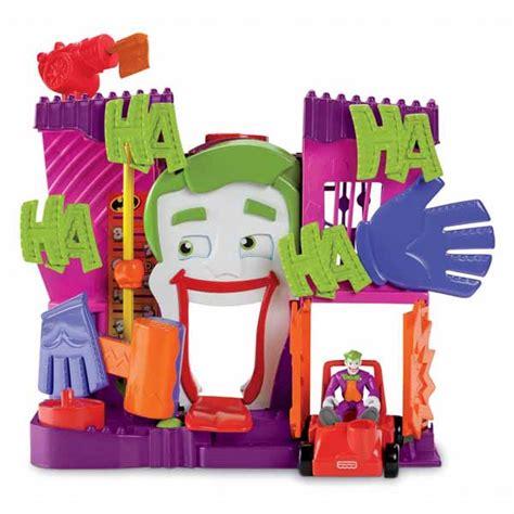 batman toy house batman toys imaginext joker s fun house at toystop
