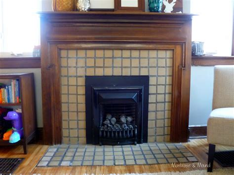 Painting Fireplace Tiles by How To Paint Fireplace Tile Montrose Mound